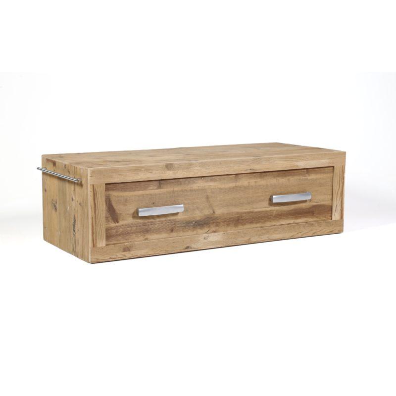 mobile consolle bagno in legno abete vecchio